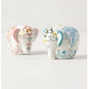 Anthro elephant Bali Salt & Pepper Shakers
